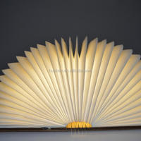 Huaben customized folding rechargeable book light