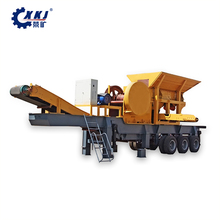 Portable mining cone crusher crushing plant for sale