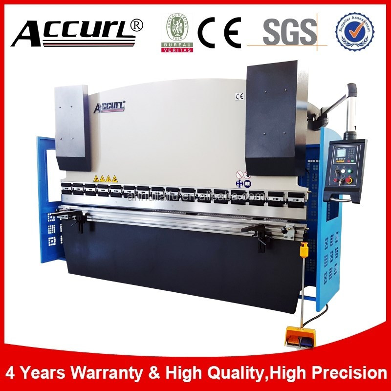 New Accurl 100T 3200mm Hydraulic Press Brake,plate bending machine drawing