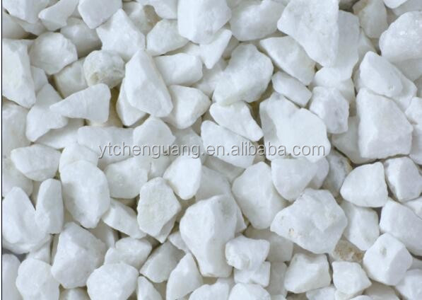 white marble resin bonded gravel
