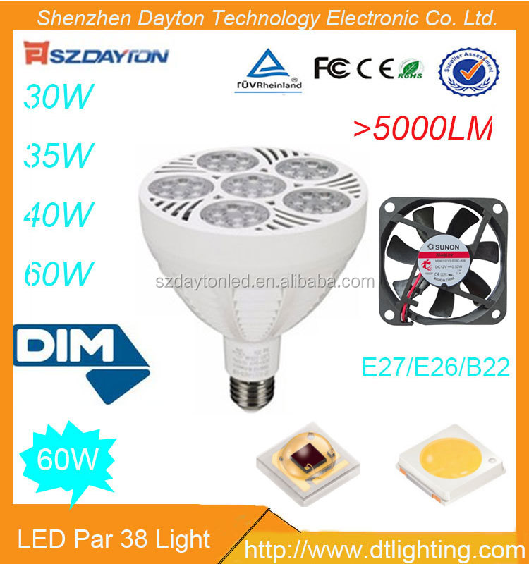 High Quality Globe Light 60W Lamp E27 LED Bulb SMD Led Par38 Led Bulbs 60 Watt Bulb