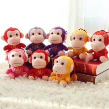 Wholesale cheap customized cotton popular mini little pretty monkey stuffed animals