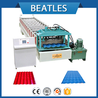 metal roof tile making machine for building material