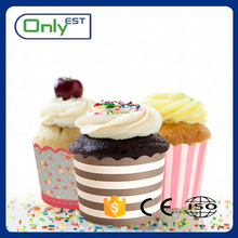 Well-designed colourful wedding case liner kitchen cupcake paper cake cup
