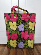 Attractive fashion promotional pp rice woven bag great