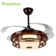 Low mid high speed electric motor decorative 42 inch ceiling fan with light