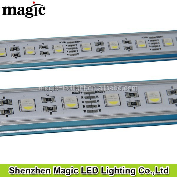 500mm 1000mm 1500mm 2000mm DC12V&DC24V Waterproof 4in1 RGBW LED wall washer