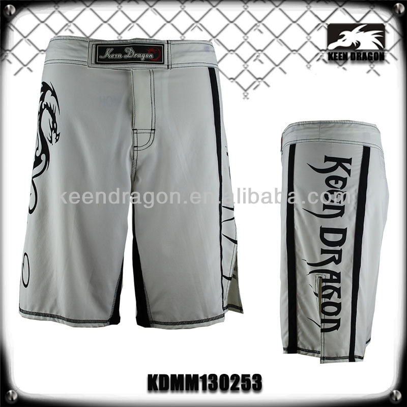 MMA Fight Shorts for Men with Chosen Logo