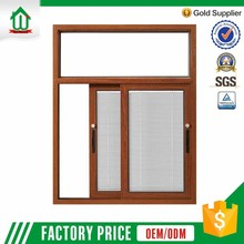 windows with window internal blinds