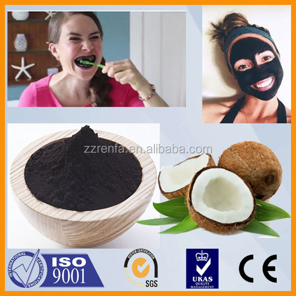 PURE ACTIVATED CARBON COCONUT CHARCOAL POWDER Food Grade Teeth Whitening