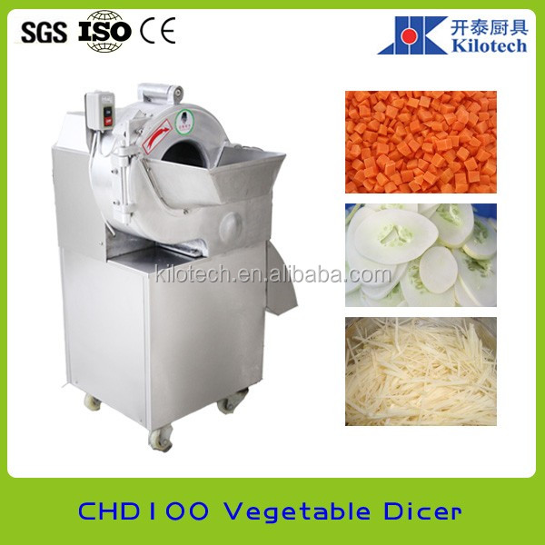 Automatic vegetable cube cutting machine, potato dicer