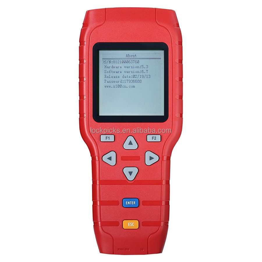 Latest Version Original X100+ Auto Key Programmer X100 Plus Car Diagnostic Tools [AML041130]