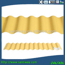 high quality zinc prepainted stone curving corrugated metal colourful roofing sheet