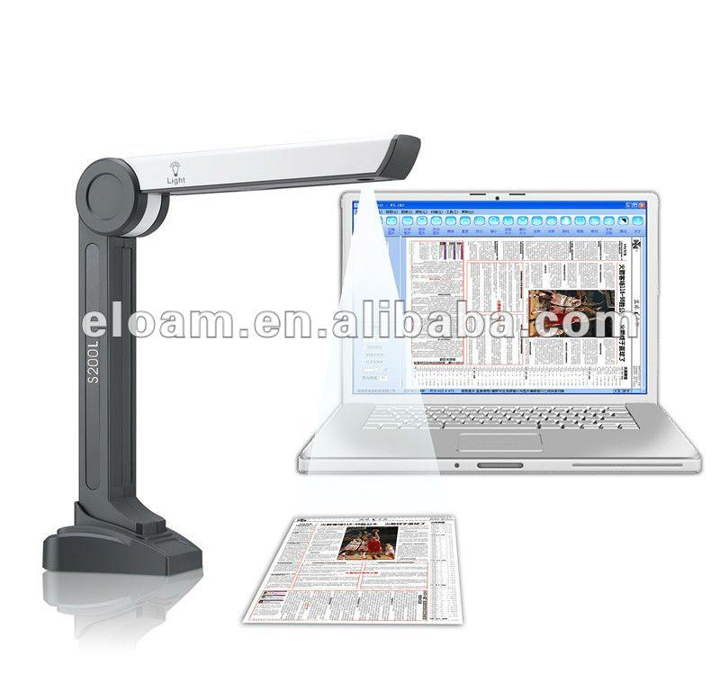 A4 document scanner S200L camera scanner visualizer OCR scanner
