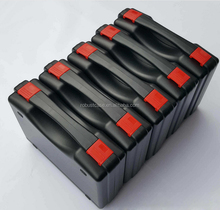 Made In China Logo Customized pp heavy duty plastic tool case with printing and handle