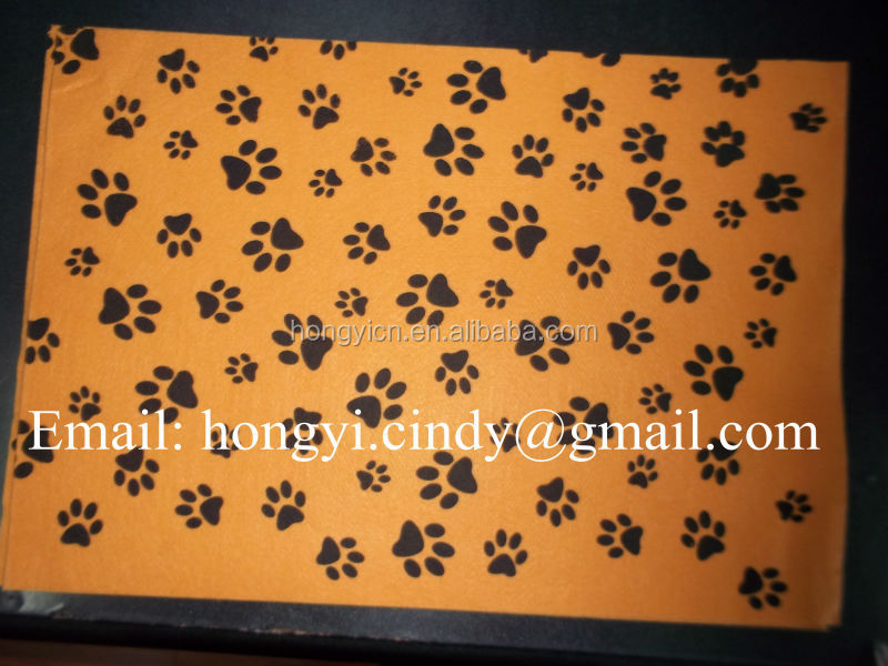 Logo printed nonwoven fabric cleaning cloth for pet (for dog, cat, etc)