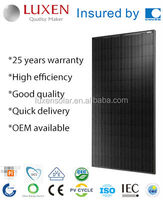 320W pv mono Solar Panel, all black solar module
