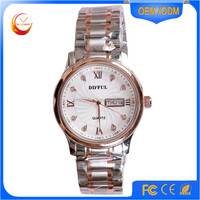 2015 Luxury Brand Men Stainless Steel Strap fashion Quartz Watches