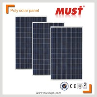 MUST Poly PV panel/High efficiency solar panel 250w poly solar pv modules FACTORY DIRECT 250Watt