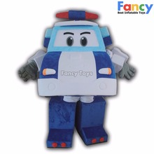 car mascot costume/plush mascot costumes for adults/adult mascot animal costume
