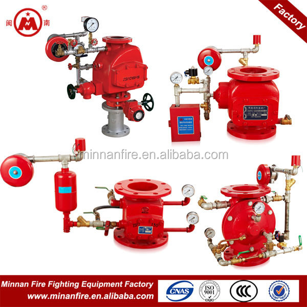 fire fighting alarm check valve,deluge valve,wet alarm valve
