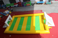 inflatable football field,inflatable water soccer field football pitch for sale