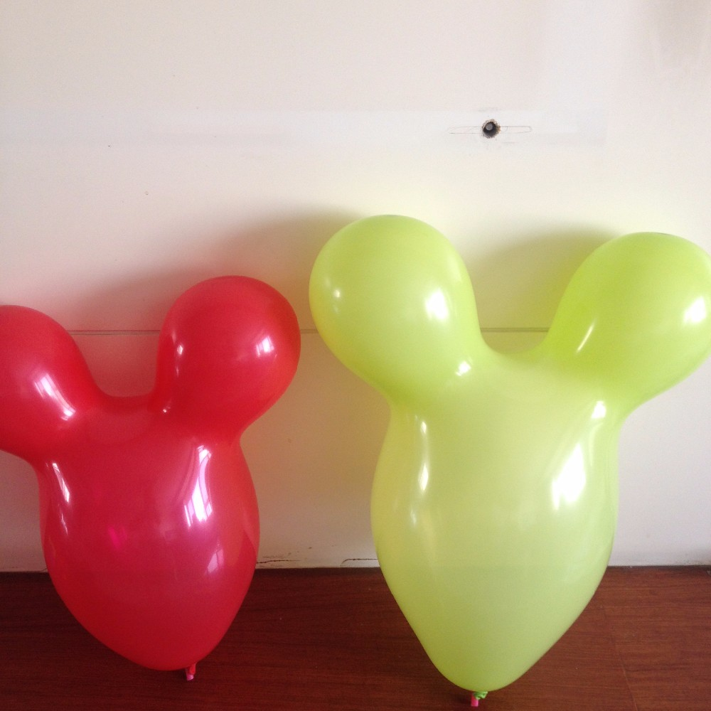 Mickey Mouse forma decortion globo para el regalo juguete