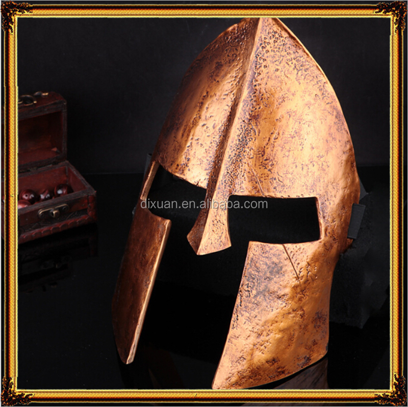 The movie theme mask Spartan 300 golden helmet mask 3d movies Mask