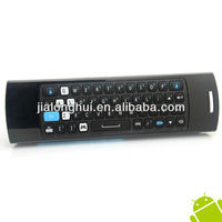 New arrival Mele F10 Pro Earphone & Micphone Fly Air Mouse Keyboard Special For TV Box Game