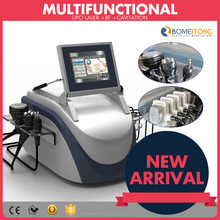 Multifunctional skin tightening fat cavitation rf+laser machine for sale