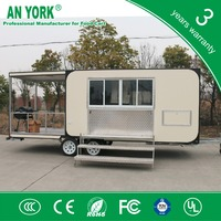 FV-68 food truck with drawbar food truck with towbar food truck with 4 wheels