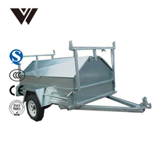24h Reply Timely Delivery Motorcycle Cargo Trailer