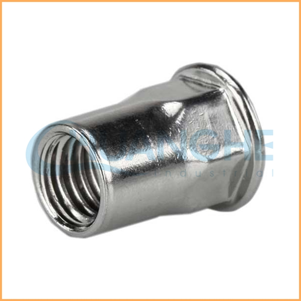 Low price wholesale! high quality m6 hex rivet nut