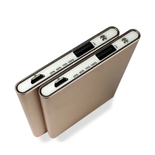 rechargeable power bank,Aluminium case 3000mah cheap portable power bank portable power bank , super slim power bank