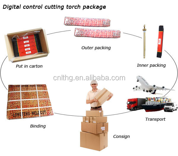 China Cheap different size numerical control cutting torches For CNC Metal Cutting Machine