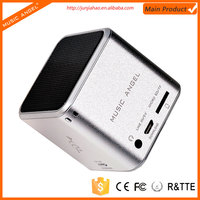 MUSIC ANGEL tf card download rechargeable portable mini bluetooth speaker