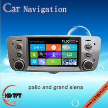car dvd player with GPS for Fiat palio grand siena 2012-2013