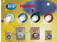 Multifunction 3 led push lamp/touch lamp/led mini stick touch lamp