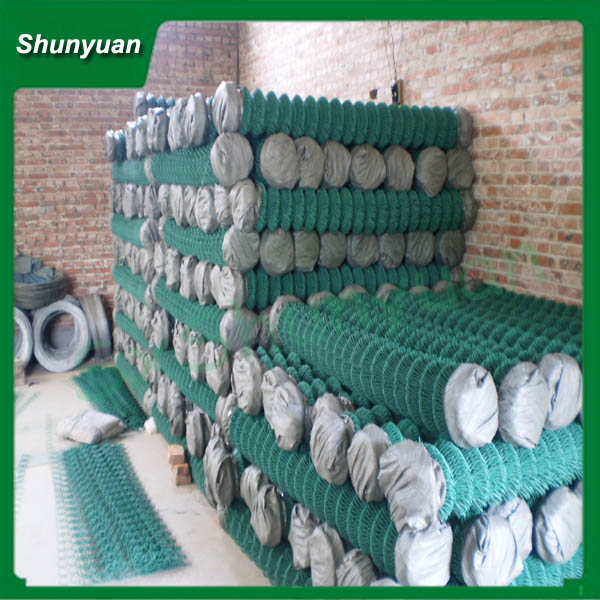 China Alibaba supplier hot sale pvc coated chain link fen( factory pri)