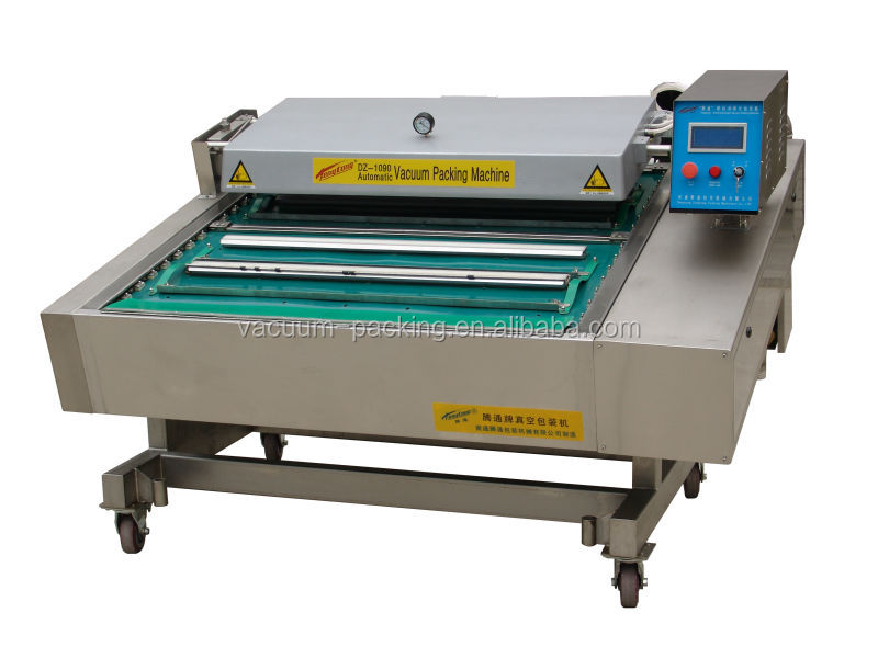 frozen chicken wings automatic food vacuum packing machine