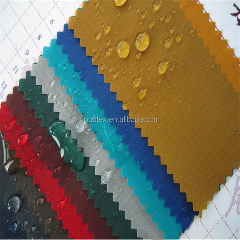 Factory directly provide high quality waterproof coated nylon ripstop fabric