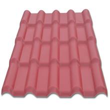 structural strength metal roof tile synthetic resin tile, colorroof with price