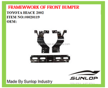 for hiace AUTO PARTS SPARE PARTS #0020119 framework of front bumper FOR for hiace 1994-2002 KDH 200 COMMUTER VAN