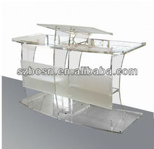 Grand Acrylic Lectern, Plexiglass Podium, Perspex Church Pulpit