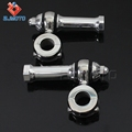 "Custom Flanders Style Polish Heavy Billet Aluminum Motorcycle Handlebar Risers Universal Fit For Most With 1""(25.4mm)"