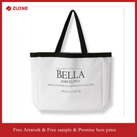 OEM manufacturer custom cotton shopping bag, fashion beach bag, canvas tote bag