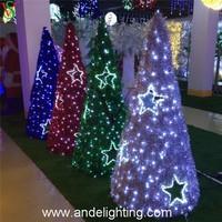 outdoor 3D garland lighting for christmas wedding decoration