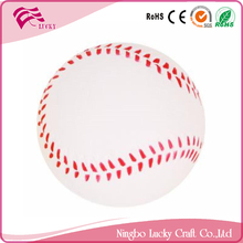 Lucky Craft PU foam 63mm baseballs soft relieve toys cheap stress balls