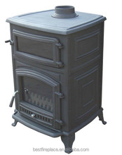 Cheap Household Cast Iron Wood Burning Stove with Oven