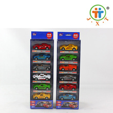 2017 boys funny game pull back metal toy 1:55 diecast car model for children